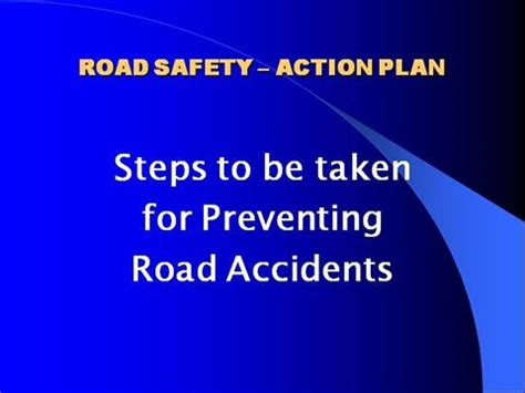 Ways to prevent road accidents essay - siraircoza